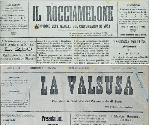 """Buon Compleanno, """"La Valsusa"""": 120 anni di notizie"""