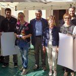 40) Premiati concorso Canestrello d'Oro, sindaco Vaie, pasticcere Simone Vercellina, Unitre e sig.ra Rosina Ilotti