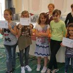 5) premiazioni concorso under 12 insieme ai premi (buono acquisto)