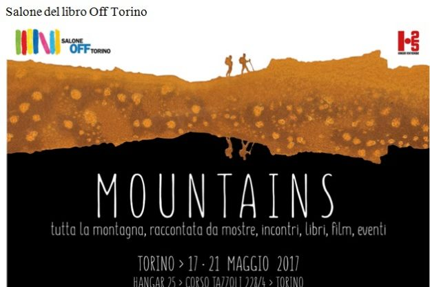 """Mountains"" al Salone del Libro di Torino"