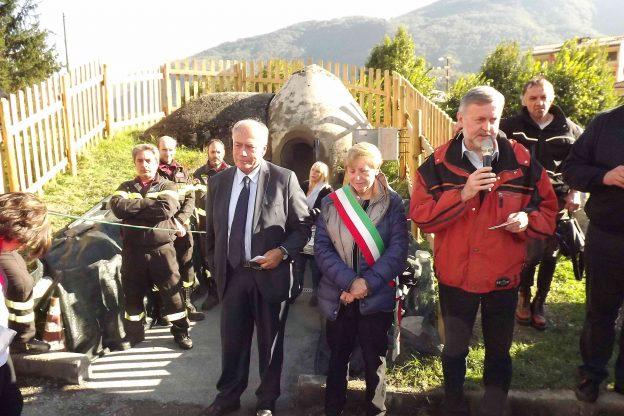 S.Antonino, visite al rifugio antiaereo nel giorno dei partigiani