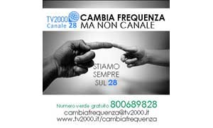 TV 2000 cambia frequenza