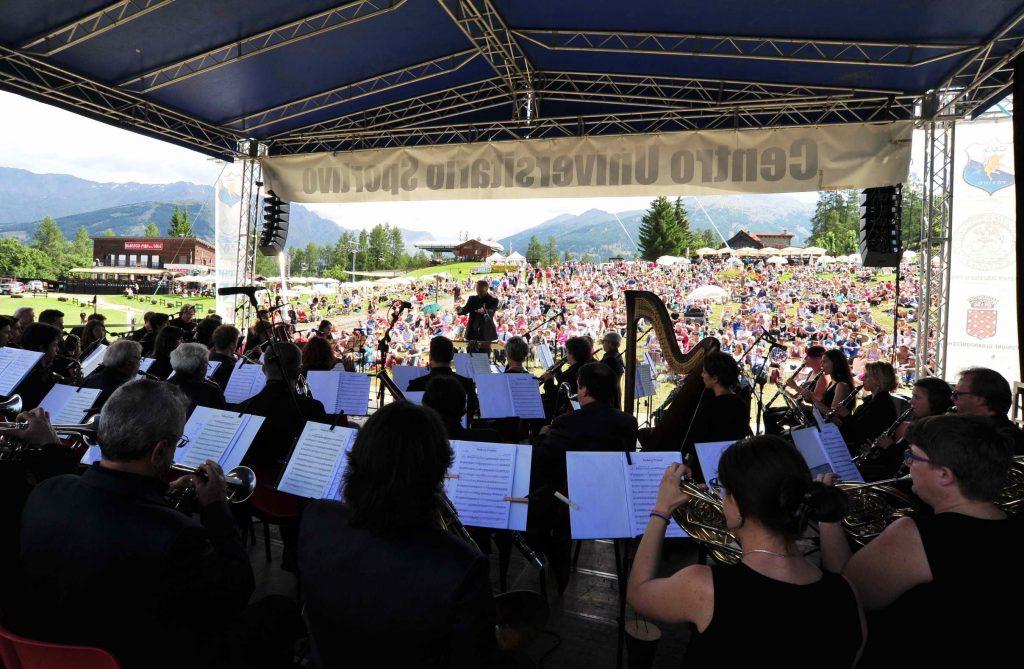 Concerto in altura a Pian del Sole (Bardonecchia)