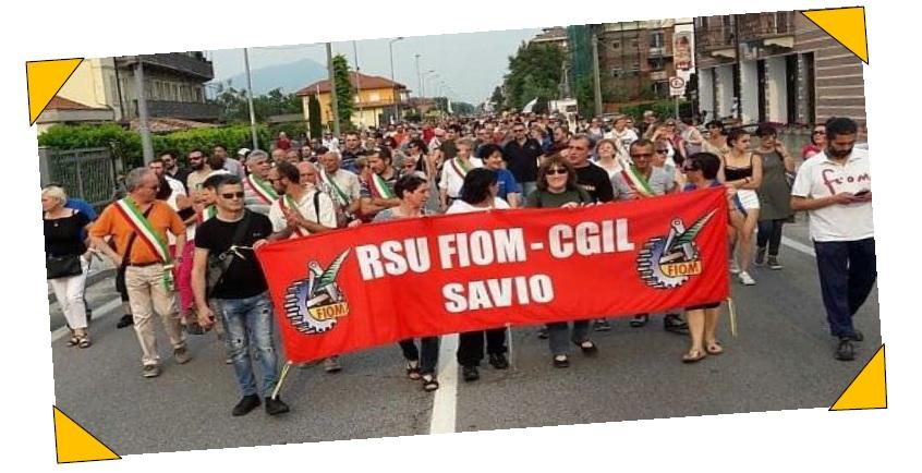 """Chiusa San Michele, i lavoratori Savio non mollano: """"No ai licenziamenti"""". Domenica alle 17 manifestazione davanti alla fabbrica"""