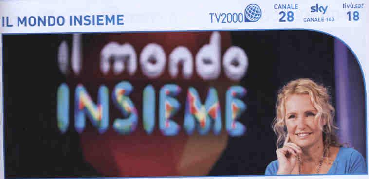Non perdetevi TV2000 !