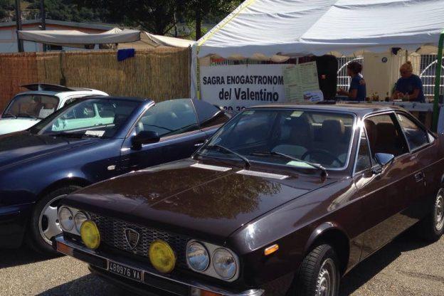Borgone, auto d'epoca per la Sagra del Valentino