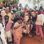 Il gruppo dei bambini dell'orfanotrofio di Tohoun