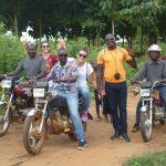 Inizia il giro dei villaggi di Fanglohoe, Wagba e Wantehoe con George lo chauffeur