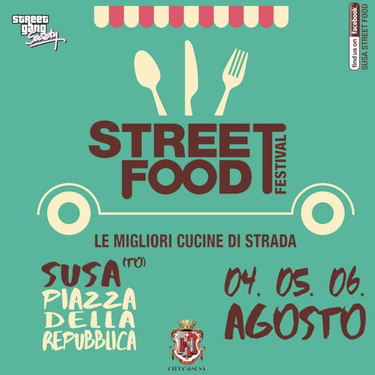 Susa, parte oggi, 4 agosto, lo Street Food Festival in piazza d'Armi