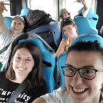 27 luglio 2017. In viaggio verso l'aeroporto di Milano Malpensa