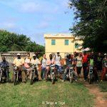 29 luglio 2017. Pronti a visitare i villaggi di Kamé