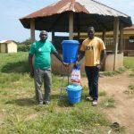 Rifornimento di sapone per il progetto di igiene