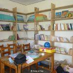 L'interno della bibliothèque