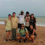 Sulla spiaggia di Aného