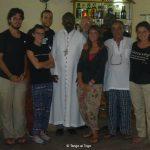 Insieme ad Isaac Agbémenya Gaglo, vescovo di Aného