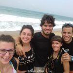 Sulla spiaggia di Agbodrafo