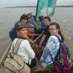 In piroga sul lac Togo a Togoville