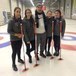 Elena, Elisa, Chiara e Marta: quattro ragazze di Buttigliera sul podio del Curling a Marsiglia