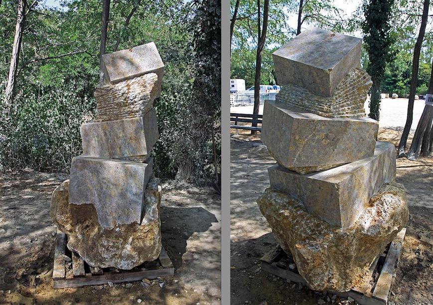 Una nuova scultura di Maurizio Perron