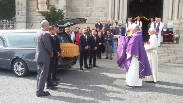 Giaveno. Venerdì 22, al Selvaggio, i funerali di Abele Luigi Bergeretti