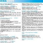 CinemaDove, i film del fine settimana