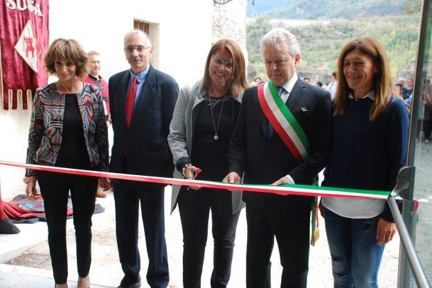 Susa, sabato 23: inaugurato il primo tassello del nuovo museo, al Castello
