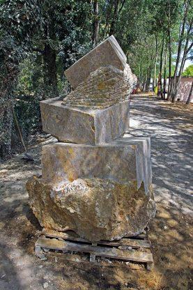 equilibrio la scultura di maurizio perron