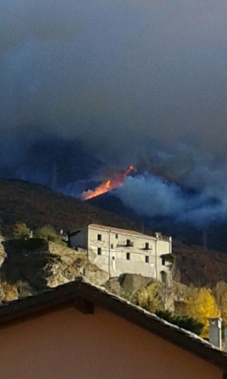 Incendi a Mompantero e in Valle: sabato 28 sopralluogo di Chiamparino e Valmaggia
