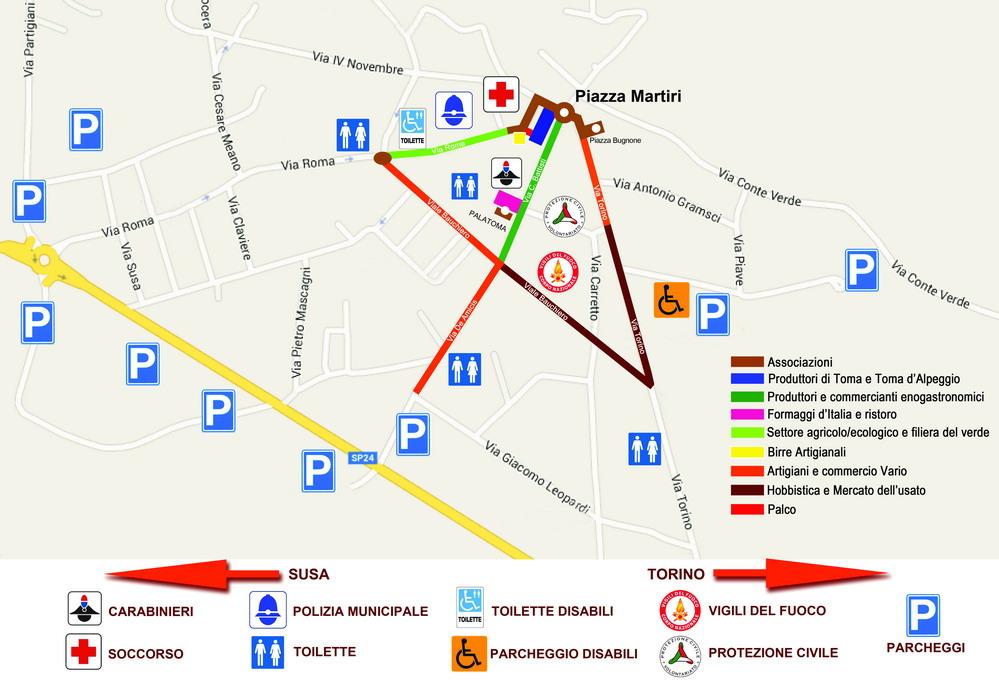 Una mappa per la Toma
