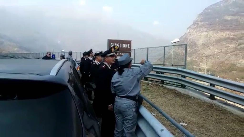 Incendi. Il Generale dell'Unità Forestale dei Carabinieri in Valle di Susa