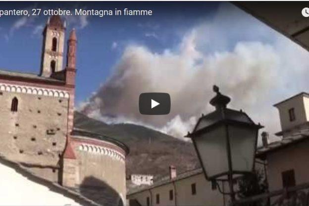 Incendi. Situazione drammatica a Mompantero
