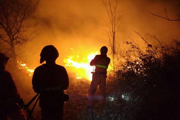 Niente pioggia da settimane: cresce il rischio di incendi boschivi
