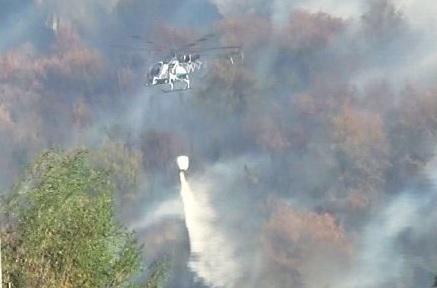 Un milione e 200 mila euro per gli elicotteri antincendio