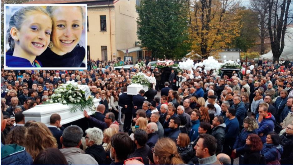 Condove. Tantissima gente, lacrime e preghiere per Ginevra e Gioia Virginia