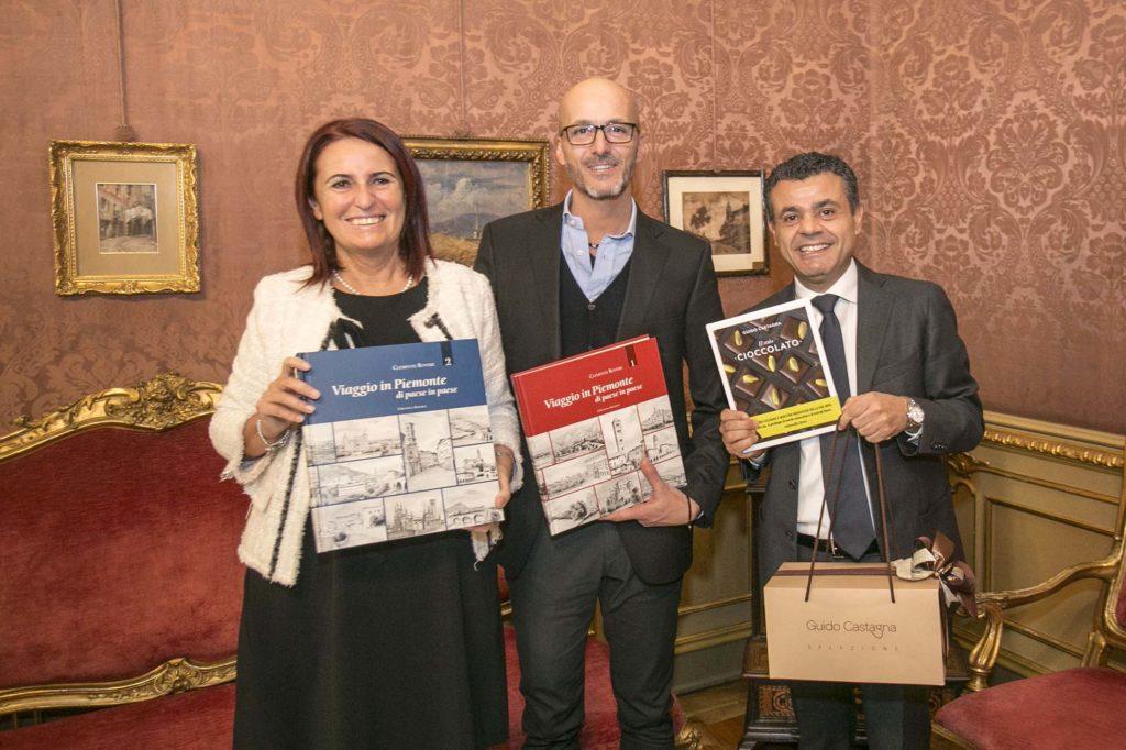 Il cioccolatiere Guido Castagna premiato in Regione