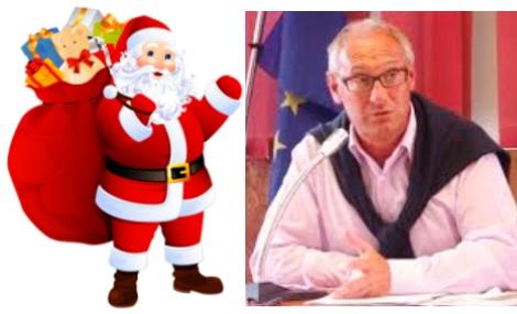 """Il sindaco di Oulx scrive a… Babbo Natale: """"Siamo turistici ma incapienti"""""""