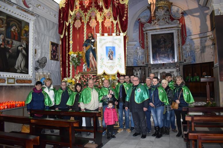 Gli Amici di San Rocco di Bruzolo in trasferta a Gioiosa Ionica