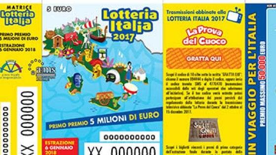 Lotteria Italia: 1 milione e mezzo di euro a Rosta