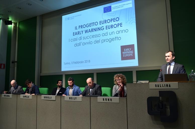 Unione Europea e Unione Industriale di Torino alleate per aiutare le piccole e medie imprese in difficoltà