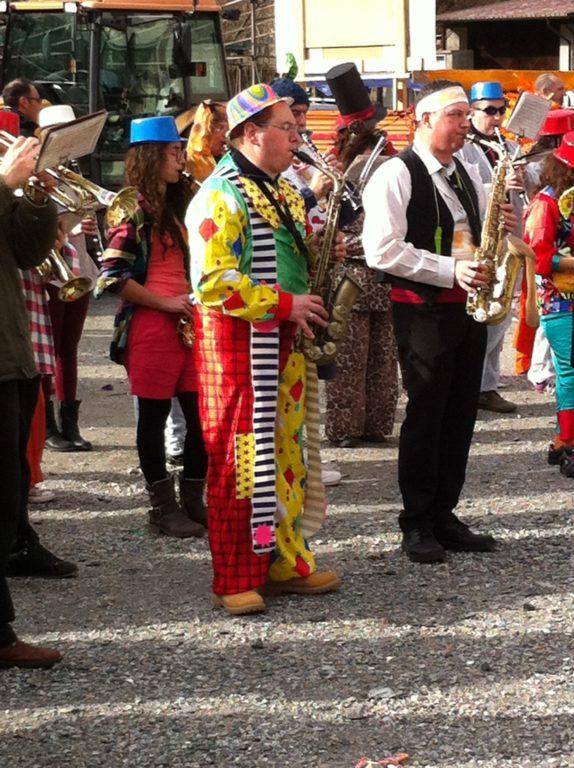 Borgone, tutto pronto per la sfilata di carnevale