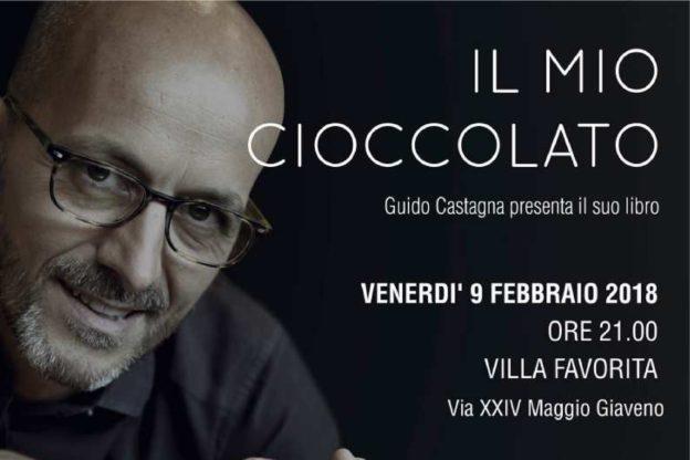 """Giaveno, Guido Castagna presenta il libro """"Il mio cioccolato"""" (ma non ci sarà la Clerici)"""