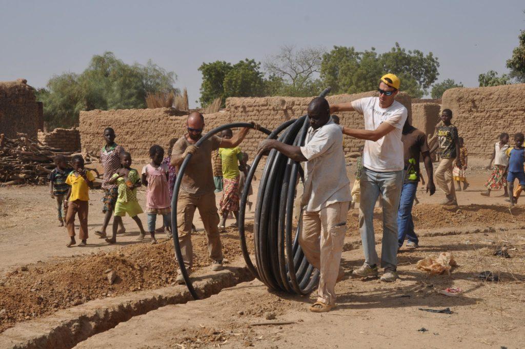 Sangano, nove volontari di Lvia sono tornati da poco dal Burkina Faso