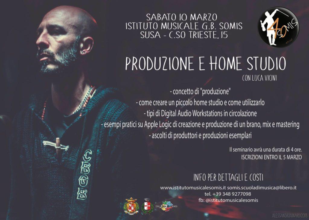 "Susa, l'Istituto Musicale ""Somis"" promuove seminari aperti a tutti"