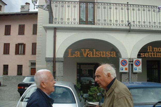 Quella volta in cui Folco Quilici venne in Valsusa. Nel 2001, il grande documentarista, da poco scomparso, si recò in visita a Susa