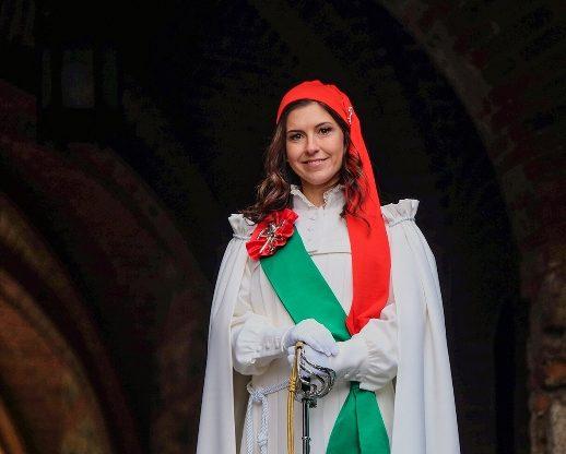 È la valsusina Francesca Olivero in Feraudo la Vezzosa Mugnaia del Carnevale di Ivrea