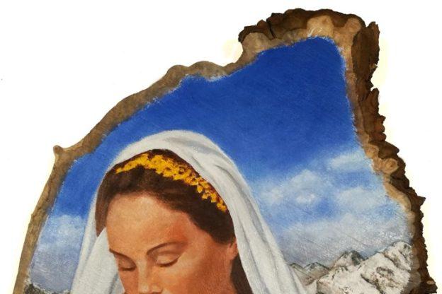 Indiritto di Coazze, una nuova Madonnina per la chiesa di San Giacomo