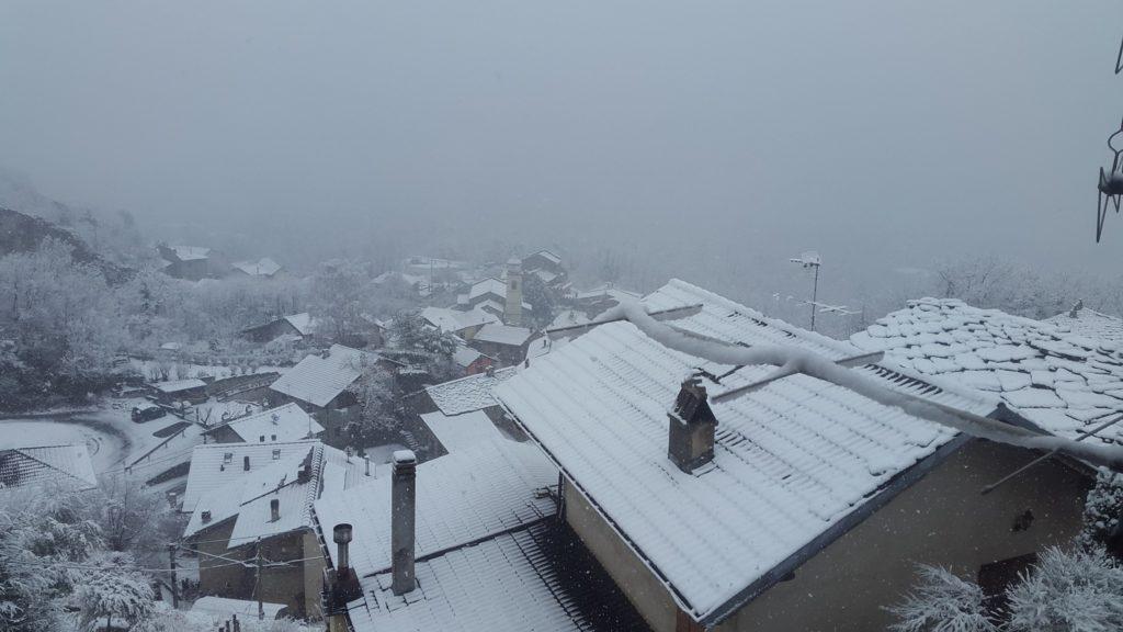 Valsusa, dalla Siberia arriva Burian: neve, vento e gelo