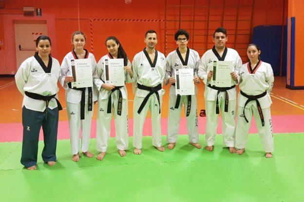 Susa, cinque nuove cinture nere di Taekwondo