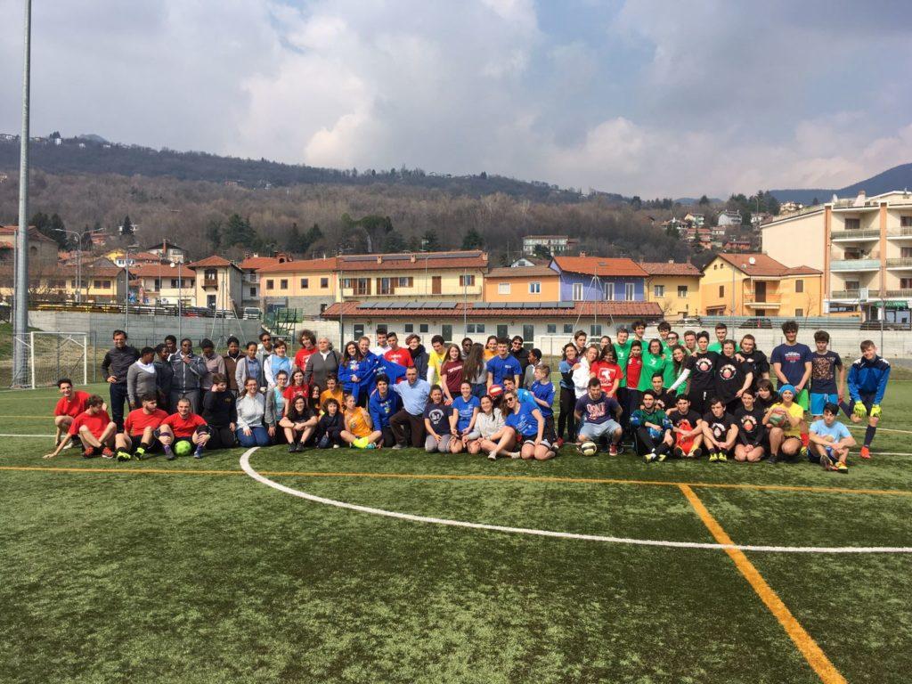 """Grande successo per l'iniziativa """"Jesus & Sports"""" che ha coinvolto decine di giovani della diocesi di Susa"""