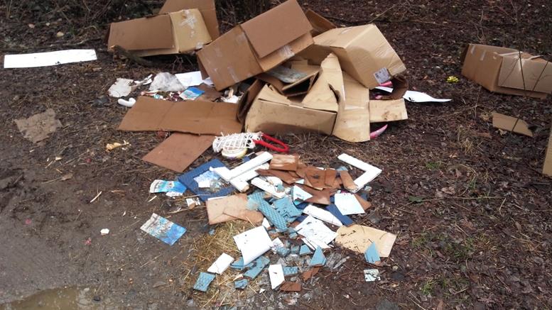 Almese: Individuati e sanzionati i colpevoli di abbandono di rifiuti